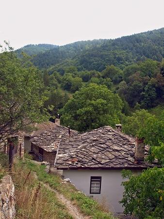 Стари къщи в с. Орехово